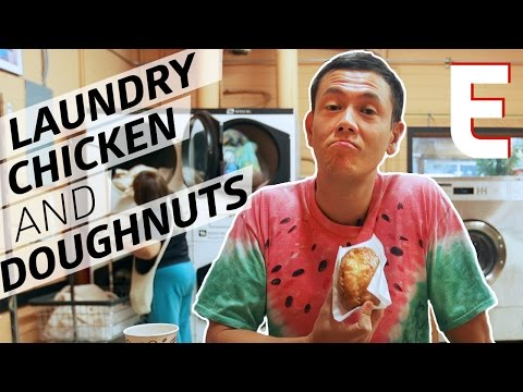 Seattle's Best (and Only) Teriyaki, Doughnut, AND Laundry Spot —Dining on a Dime