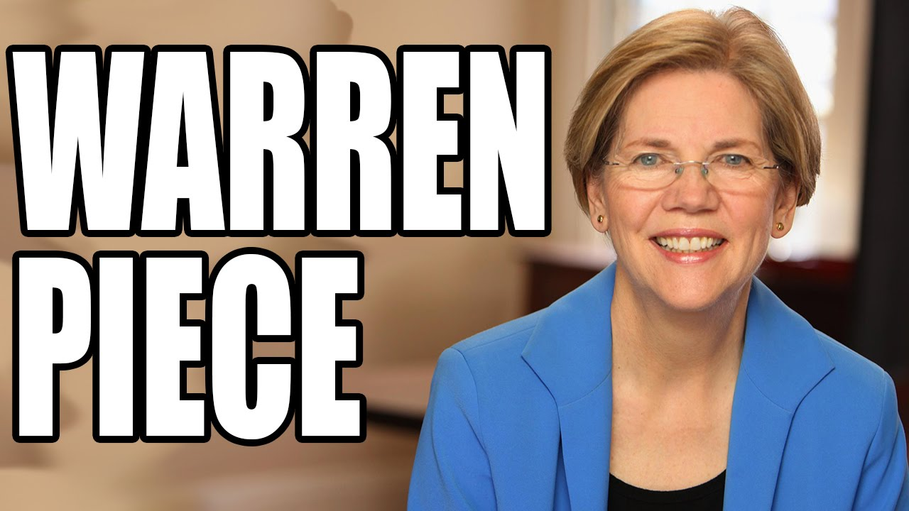 Sen. Elizabeth Warren Tell-All About Lawbreaking JPMorgan Chase CEO