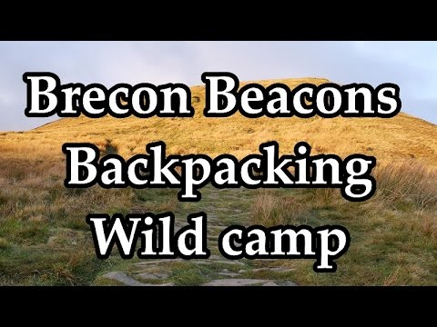 Wild Brecon, Backpacking Adventure. November 2016 Part One