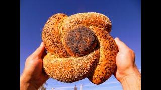 Такой хлеб вы полюбите навсегда Самый красивый хлеб цветок Пекарь готовит