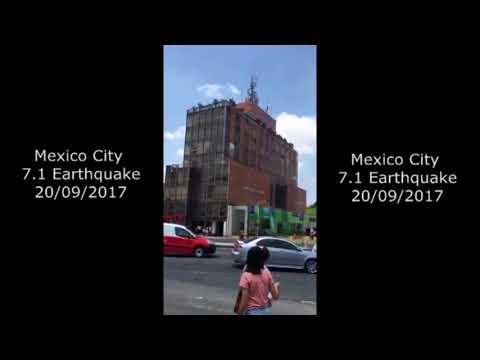 Mexico City 7.1 Earthquake 20-9-2017, Earthquake Compilation HD