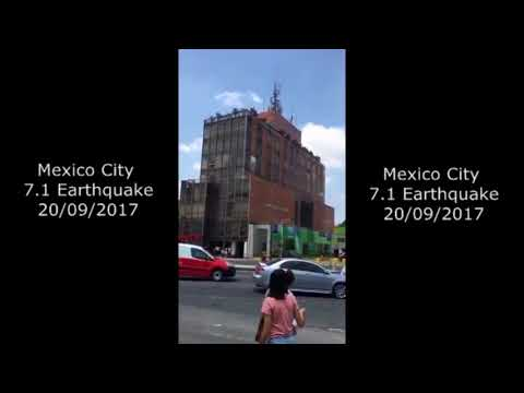 Mexico City 7.1 Earthquake 20-9-2017, Earthquake Compilation HD
