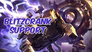 Blitzcrank Support vs Nautilus - Challenger - Season 5 - Patch 5.16