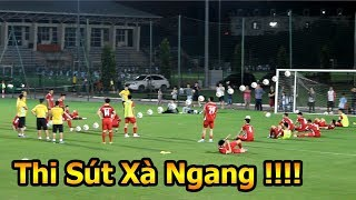 Thử Thách Bóng Đá Công Phượng , Quế Ngọc Hải , Hà Đức Chinh U23 Việt Nam thi sút Xà Ngang