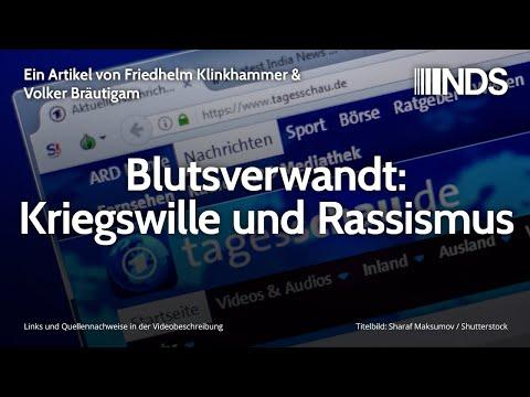 Blutsverwandt: Kriegswille und Rassismus   Friedhelm Klinkhammer & Volker Bräutigam   04.03.2020