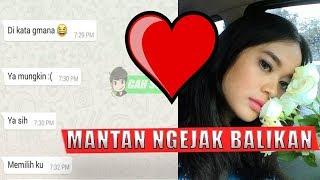 Prank Text  Mantan pake Lagu MANTAN TERINDAH (RAISA)