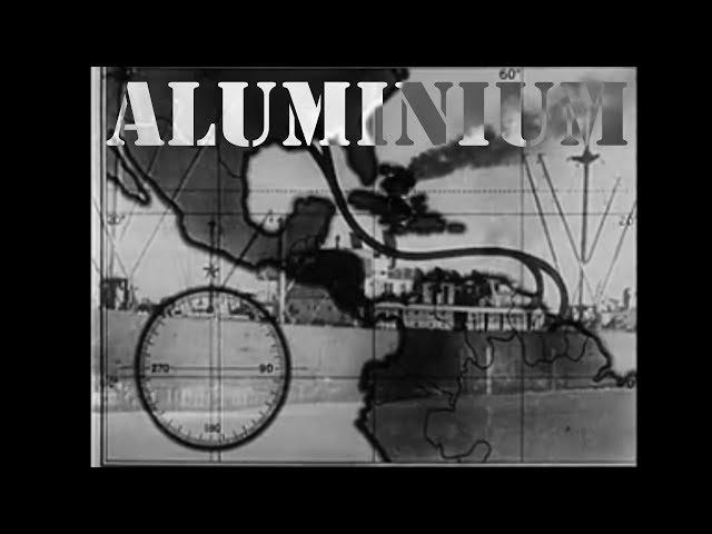 Suriname en WOII: Amerikaanse defensiefilm over de winning van bauxiet voor aluminium