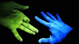 Ультрафиолет на двух пальцах