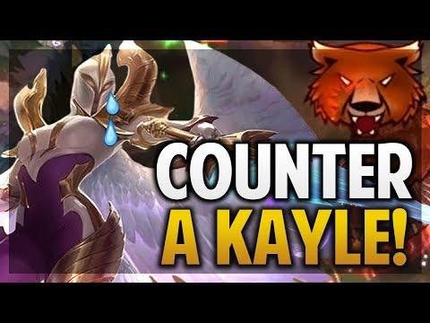 ¡COMO HACER COUNTER A KAYLE! | NO PUEDE FARMEAR! | League of Legends thumbnail