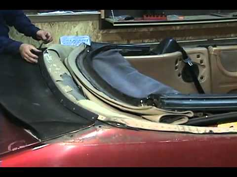 Saab 900 Installation Video Sample 87 94 Convertible Top