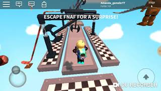 ROBLOX (ESCAPE DO 🍩) AMANDA GAMES ❤
