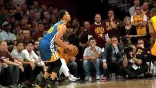 NBA Finals Phantom Raw: Stephen Curry