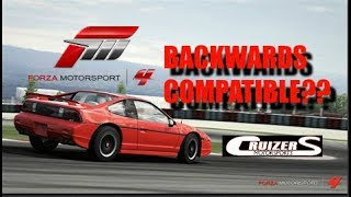 Forza Motorsport 4 Backwards Compatible?