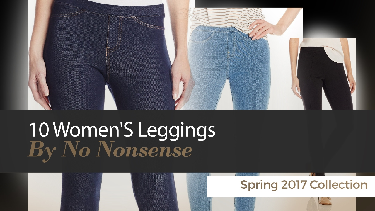 1d81be53458f9 10 Women'S Leggings By No Nonsense Spring 2017 Collection - YouTube