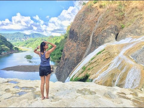 PINSAL FALLS ILOCOS SUR!! (with charee and jholee)