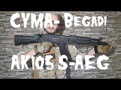 [Review] CYMA / Begadi AK105 Sport Gen.3 S-AEG