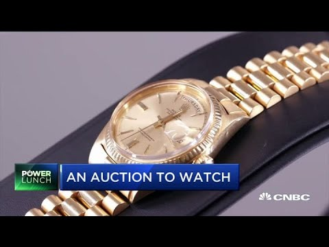 Why this golf legend's gold watch may break auction records