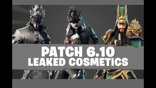 Fortnite Battle Royal Skins leaked 6.10 Update! Spider Knight, Onesie, Guan Yu and Arachne