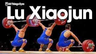 Lu Xiaojun 175kg Snatch 177kg World Record Attempt 2015 World Weightlifting Championships