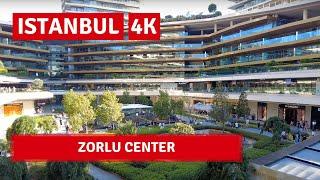 Istanbul Zorlu Center |Walking Tour In A Luxurious Shopping Center 28July 2021|4k UHD 60fps