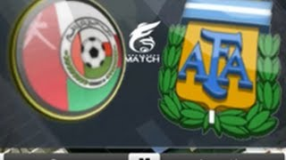 PES 2010 SoLom Super Patch FIFA World Cup 2014 Argentina Vs Oman