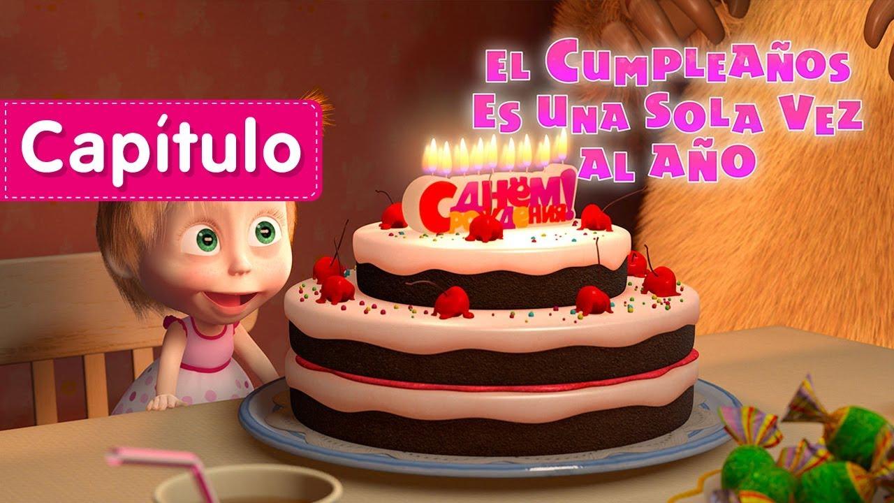 Masha y el Oso - ? El Cumpleaños Es Una Sola Vez Al Año?(Capítulo 44) Dibujos Animados en español!