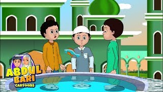 Umar ka jhut - Ramzan cartoons for kids part 3/4 Abdullah series Urdu Islamic Cartoons for children