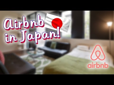 Japanese Apartment Tours! (Airbnb) アパート
