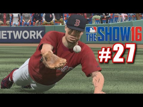 BABE RUTH'S FIRST HOME RUN! | MLB The Show 16 | Road to the Show #27