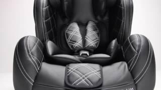 ALEXA GROUP 123 / LUSSO BIANCA - LUXURY LEATHER ISOFIX CAR SEAT
