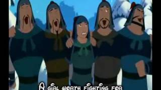 Mulan- A girl worth fighting for Lyrics