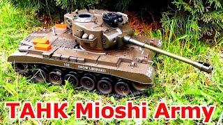 Танк на Радіокеруванні Mioshi Army ММ-26 (M26 Pershing) RC Tank Огляд Розпакування Відгук Іграшки ТБ