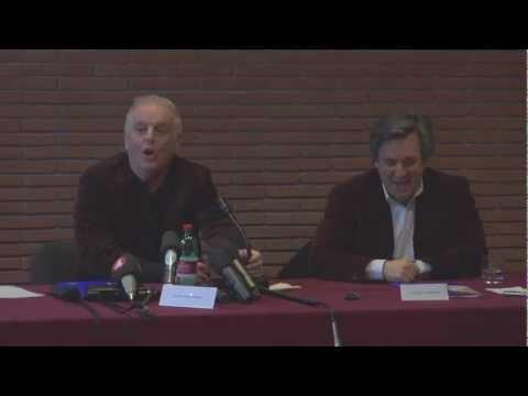 Conferenza Stampa Daniel Barenboim - Antonio Pappano - 10 dicembre 2012