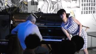 Jacques Demierre + Kaho Kogure with Akiko Nakayama 2016 東京 DADA100