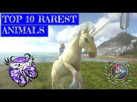 TOP 10 RAREST ANIMALS IN ARK MOBILE | ARK Survival Evolved Mobile