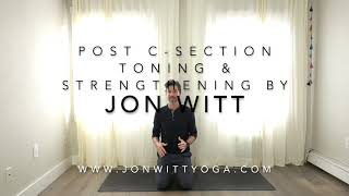 Tips and exercise for post C-section toning and strengthening by Jon Witt