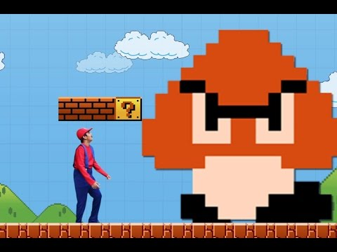 Thumbnail: Mario Maker real life