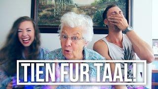 Tien Fur Taal Challenge! (Met Oma Miep) | #Furtjuh