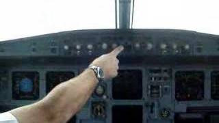 Decolagem Floripa - Jump A320 TAM