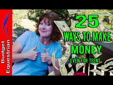 25 Ways Anyone Can Earn Extra Money
