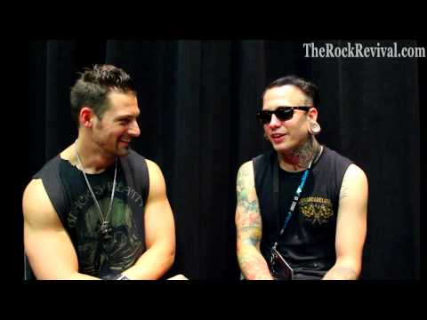 Motionless In White Interview with Josh Balz at Mayhem Festival 2013
