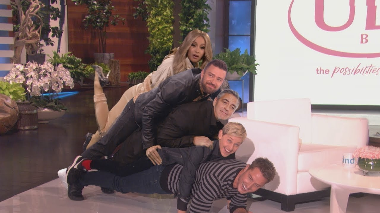 Ellen's Audience Votes to See 'Celebrities Plus Special Effects'