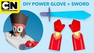 DIY | OK K.O. Power Punch Glove and Laser Sword | LETS' BUILD