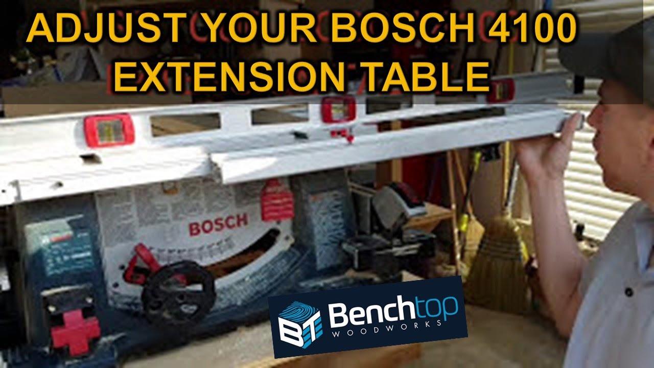 Bosch 4100 table adjustment youtube bosch 4100 table adjustment keyboard keysfo Gallery
