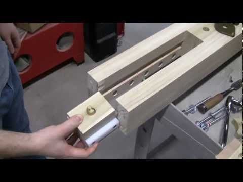 Wagon Vise Install Details - Lake Erie Toolworks
