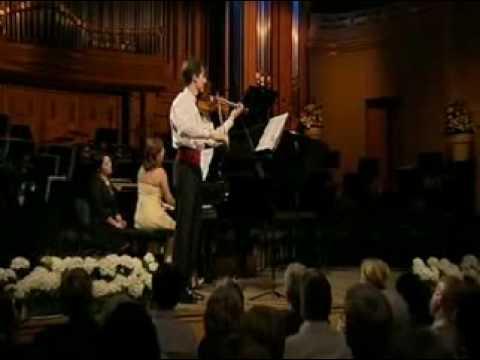 Lorenzo Gatto | Enescu Violin Sonata # 3 | 1st Mvt | Queen Elisabeth Violin Comp | 1 of 3 | 2009