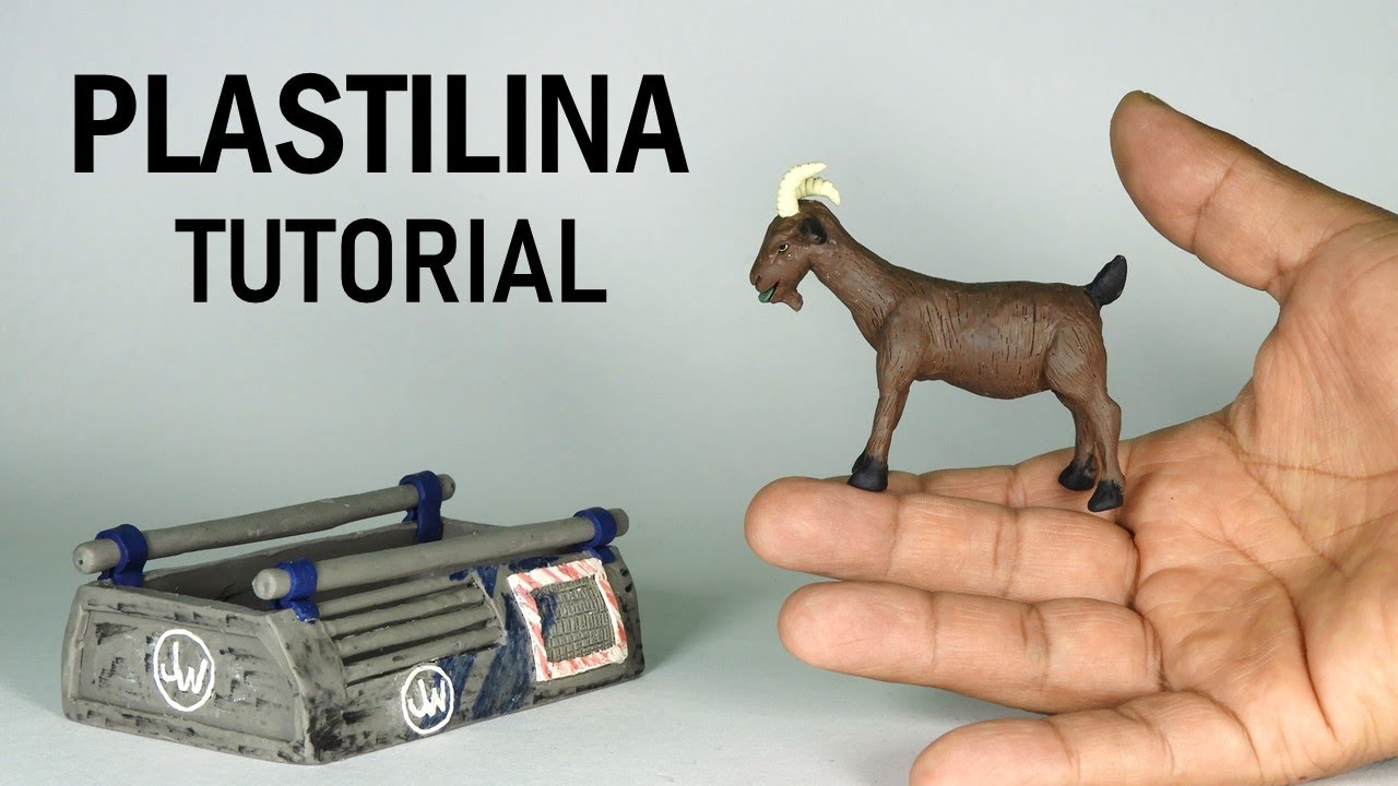 Como hacer una CABRA de Plastilina paso a paso - Mi mundo de Plastilina