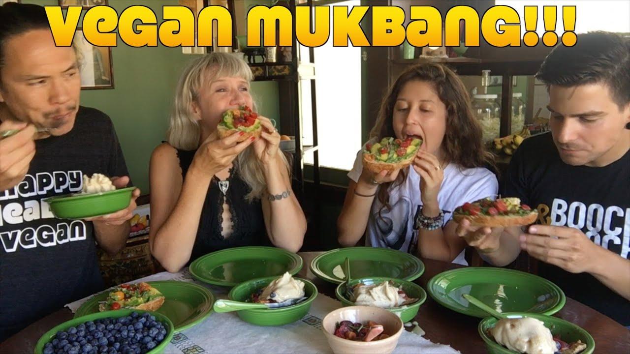 Vegan MUKBANG 100k Subs Celebration!!!