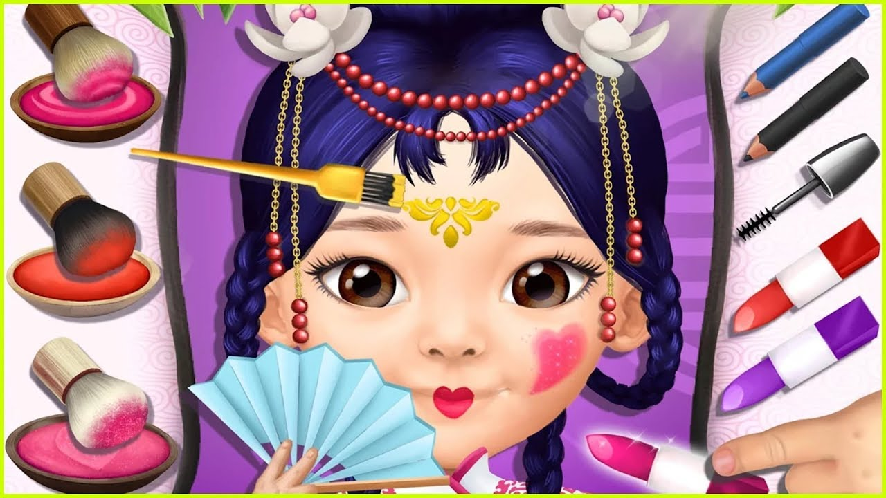 Games For Girl Pretty Little Princess Dress Up Hair
