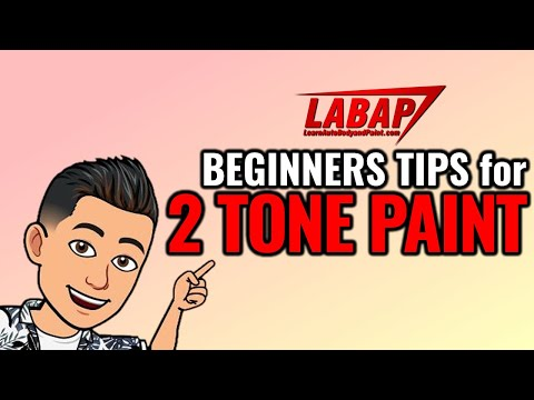 Beginner Tips for Two-Tone Paint Jobs 🚗🤔 - 동영상